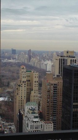 New York Hilton Midtown: View from 44th Floor of Central Park