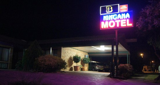 Motel Ningana: Less than a minute to Mudgee's fine dining.