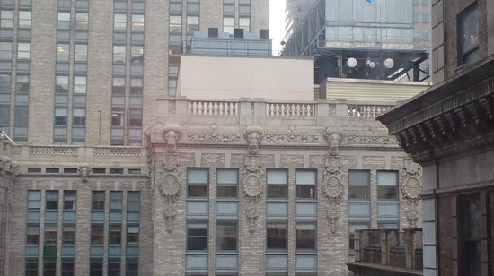 The Roosevelt Hotel: Roosevelt Hotel view from Room Jan 2013