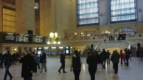 The Roosevelt Hotel: Grand Central Terminal 3 Blocks Away