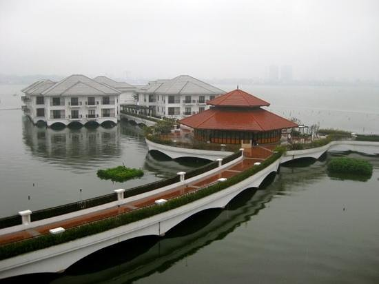 InterContinental Hanoi Westlake: view from the room