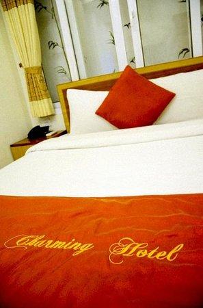 Hanoi Charming Hotel:                   ห้องพัก