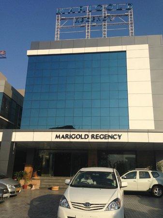 Marigold Regency:                   Front view