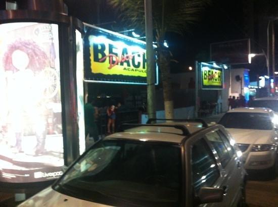 Disco Beach :                   entrance