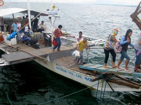 how to go to olango island cebu