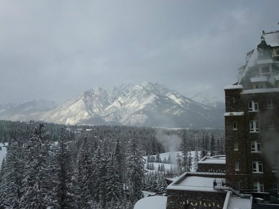 Fairmont Banff Springs: View from our room