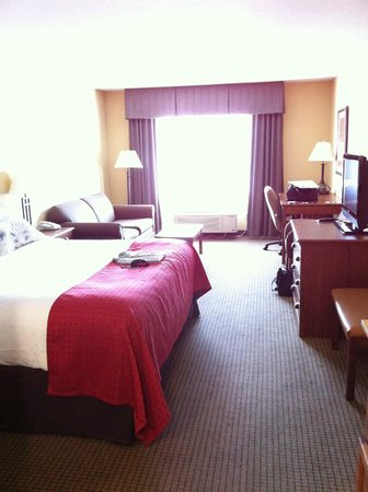Holiday Inn Stevens Point Convention Center:                   our room
