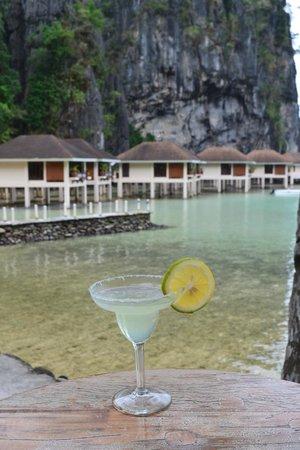 El Nido Resorts Lagen Island:                   Margaritas... yummm