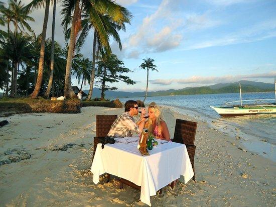 เอล นิโด รีสอร์ท ลาเกน ไอส์แลนด์:                   Private Dinner on Entalula Island