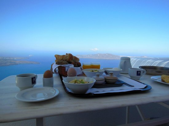 Astra Suites:                   Breakfast every morning
