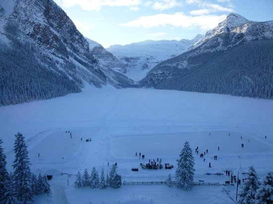 Fairmont Chateau Lake Louise: View from our room
