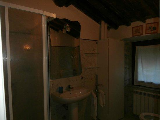 Agriturismo Locanda del Papa: Bathroom