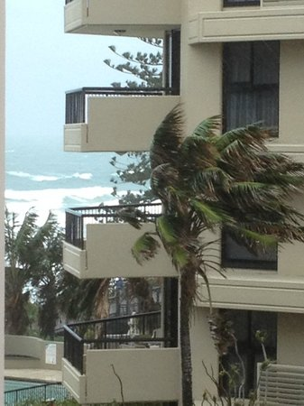 The Beach Retreat Coolum: View from our balcony between the unit next door and the unit further over