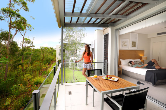 RACV Noosa Resort: One Bedroom Suite Sanctuary view