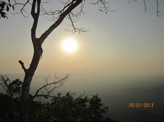 Agumbe, India:                   sunset veiw