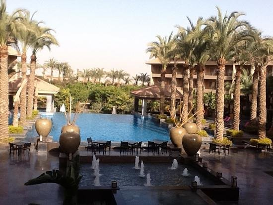 Dusit Thani LakeView Cairo:                   Main pool