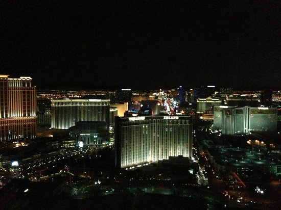 Trump International Hotel Las Vegas :                                     south view - staight down the strip!