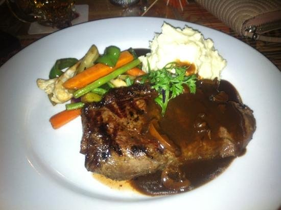 Flaming Bull Steak House :                   If you want the best rump steak you have ever indulged in your life ever. Come