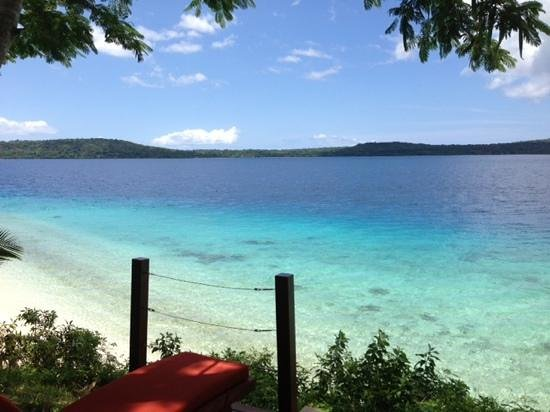 The Havannah, Vanuatu:                   another view from waterfront villa 17