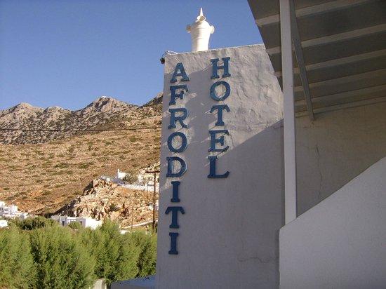 Hotel Afroditi:                   Notre Paradis