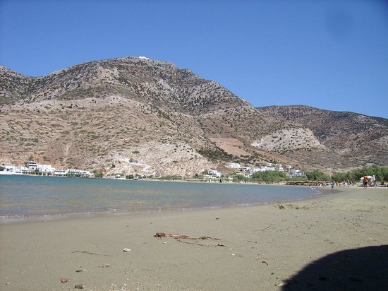 Hotel Afroditi:                   Vue du port de Kamares