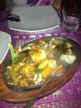 Coolum Thai Spice:                   Basil Sea food