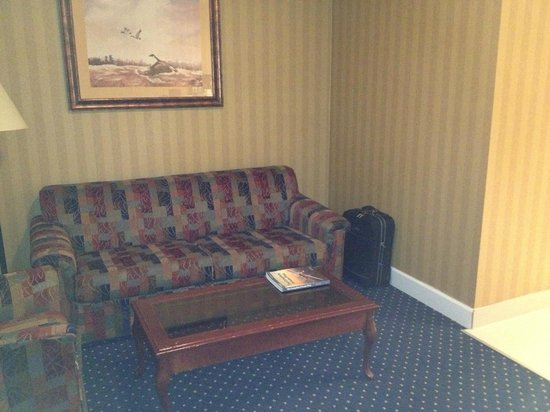 Executive Airport Plaza Hotel & Conference Centre Richmond:                   Anteroom receiving area