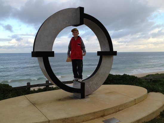 Cottesloe Beach: More beachfront sculpture