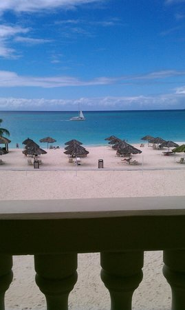 Bucuti & Tara Beach Resort Aruba:                   balcony view