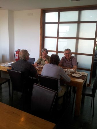 Hotel IF Patagonia:                   ontbijt