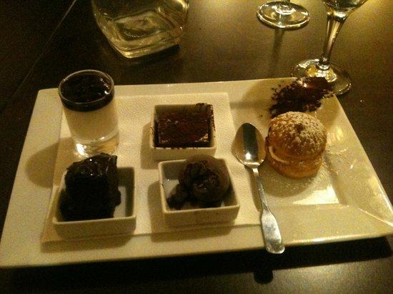 Ristorante Del Arte:                                     Chocolate dessert