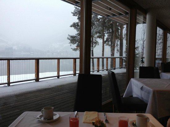 Seevilla Freiberg:                   foggy breakfast