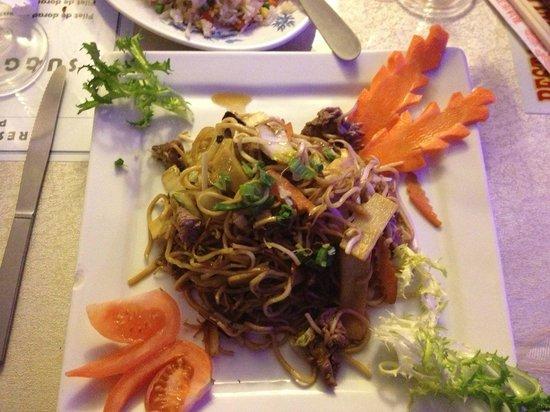 Phu Yen : Nouilles sautées au boeuf