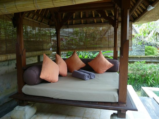 The Ubud Village Resort & Spa : Coin repos