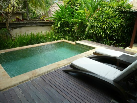 ‪‪The Ubud Village Resort & Spa‬: Piscine privée‬