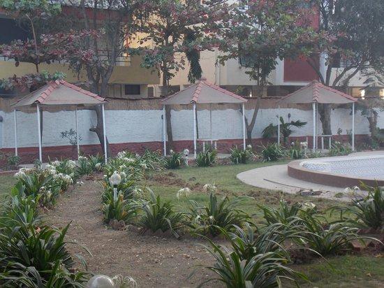 Hotel Presidency Landmark :                   pool side