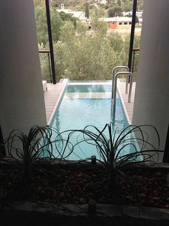 The Olive Exclusive:                   room with a pool.