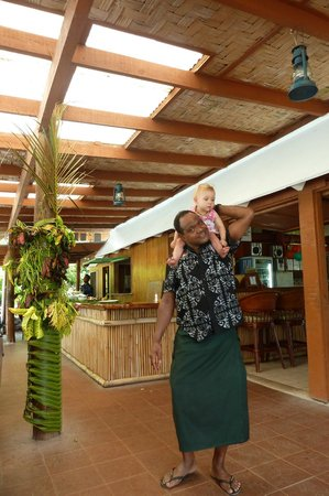 Daku Resort:                   Family friendly staff!