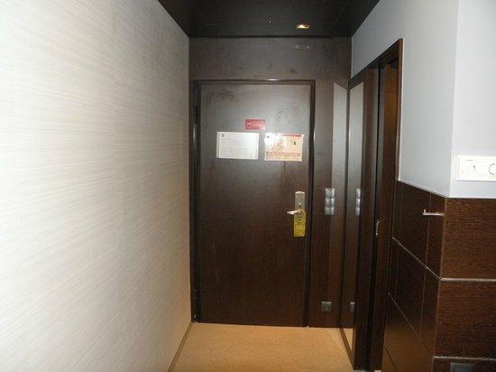 Moov Hotel Porto Centro: Entrada en la habitacion.