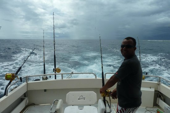 Daku Resort:                   Deep sea fishing