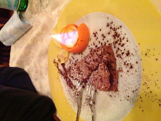 Mangiafuoco Bracerie:                   Torta al cioccolato