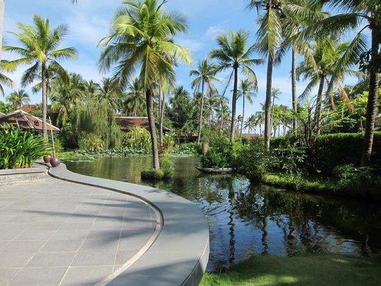 Anantara Mui Ne Resort: Aussicht beim Frühstück