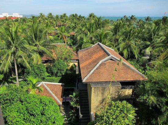 Anantara Mui Ne Resort: Aussicht aus Zimmer Nr. 340