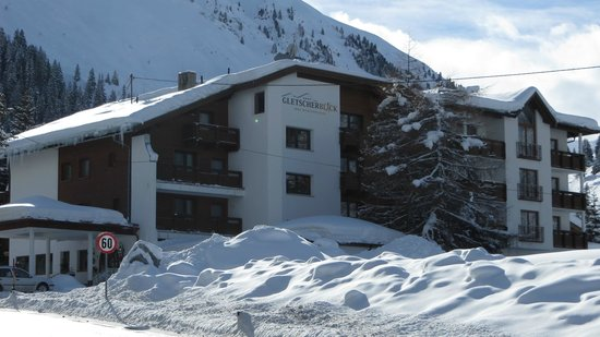 Gletscherblick:                   Mid January 2013