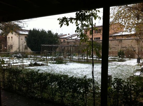 Il giardino con la neve picture of il giardino dei - Il giardino dei semplici ...