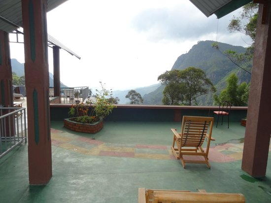 Hilltop Guest House:                   Balcony views