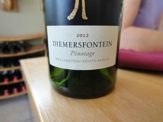 Seasons at Diemersfontein:                   Pinotage