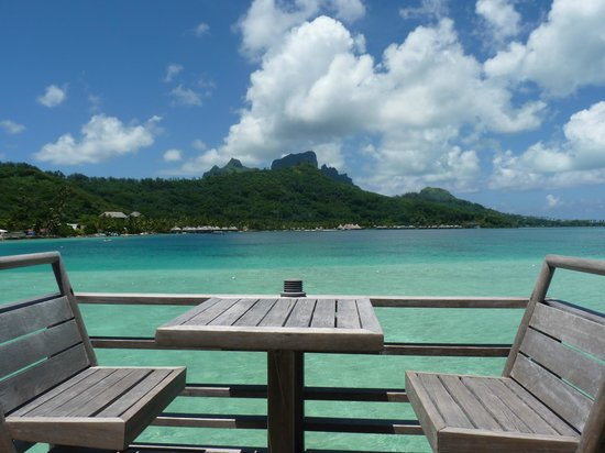 InterContinental Bora Bora Le Moana Resort:                   vue sur le lagon