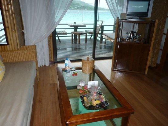 InterContinental Bora Bora Le Moana Resort:                   le Salon                 
