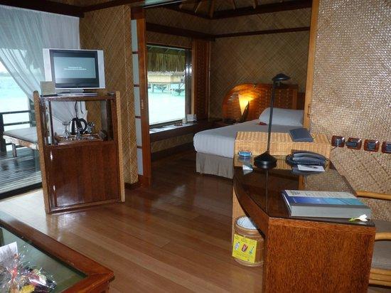 InterContinental Bora Bora Le Moana Resort:                   vue sur la chambre                 